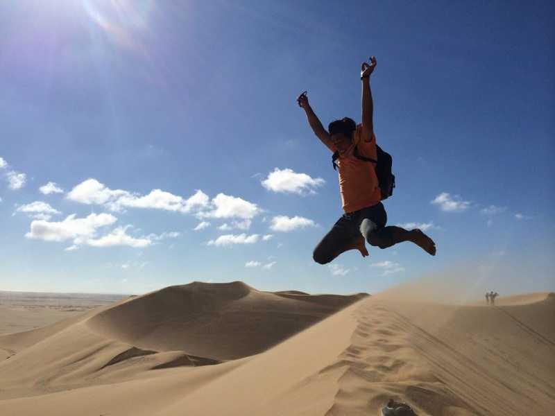 「旅=新しい自分を知ること」戸田良明