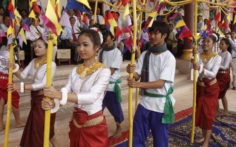 カンボジアはお正月が年3回やってくる!?