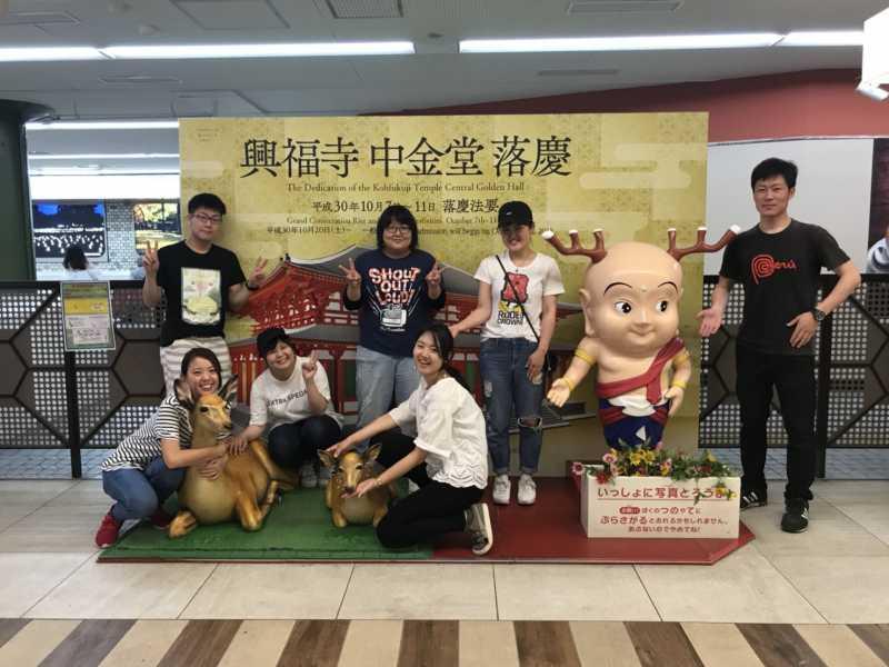 念願の初キャラバン!!奈良・ポスター貼りの旅