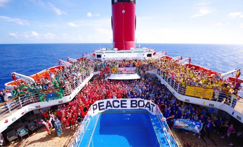 第100回ピースボート地球一周の船旅 報告会