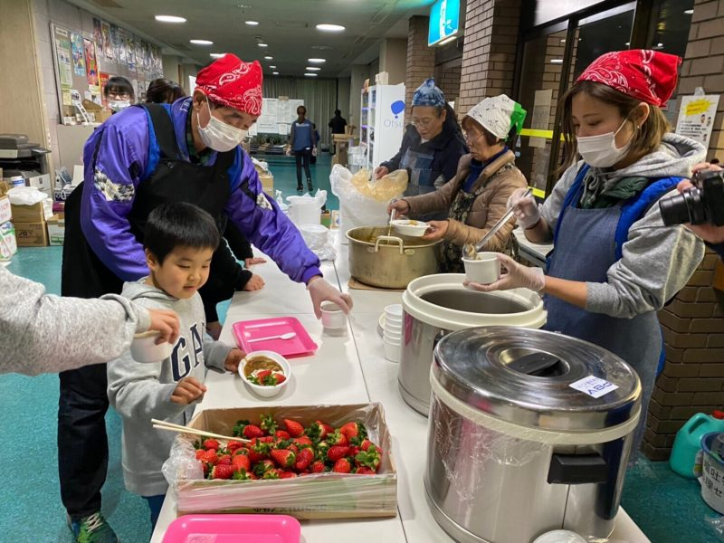 東日本大震災の時は被災者だった。次はわたしが力になりたい